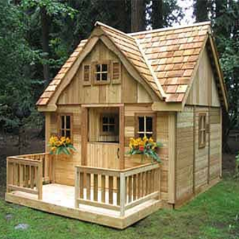 Playhouse 4 Erected Residential Sheds Playhouses